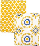 Masala Swaddle Wraps - Jali Ikat Yellow