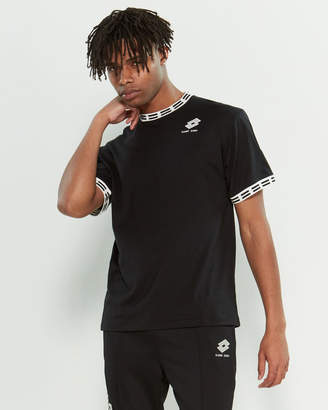 Damir Doma X Lotto Embroidered Logo Short Sleeve Tee