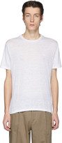 Etro White Linen T-Shirt