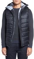 Vince Camuto Men's Hooded Faux Fur Lined Vest