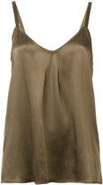 Vince sleeveless silk top - women - Silk - S