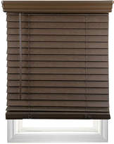 Asstd National Brand Cut-to-Width 2 Cordless Faux-Wood Blinds