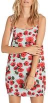 Billabong Women's Night Out Print Minidress