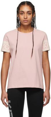 Kenzo Pink Logo Sport T-Shirt