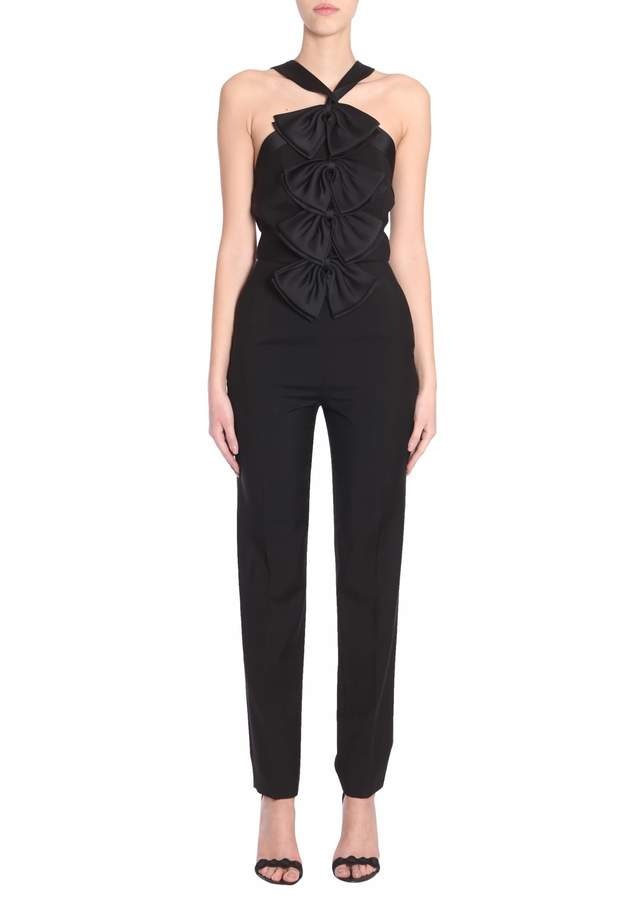Givenchy Jumpsuit With Sain Bows