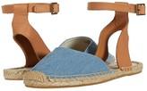 Soludos Alix Classic Sandal (Light Blue) Women's Shoes