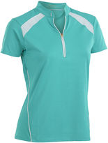 Asstd National Brand Nancy Lopez Golf Sporty Short Sleeve Polo