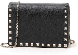 Valentino Rockstud Chain Strap Crossbody Bag