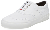 Robert Clergerie Teo 02 Leather Low Top Sneaker
