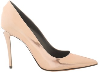 Alexander Wang Gold Patent leather Heels