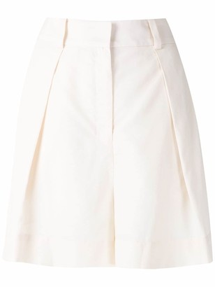 Andrea Marques Pleated Shorts