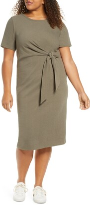 Adyson Parker Knotted Tie Dress