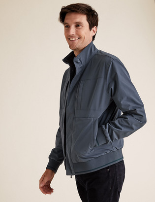 Marks and Spencer Fleece Lined Bomber Jacket with Stormwear