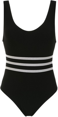 AMIR SLAMA Swimsuit With Stripe Details