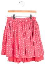 Bonpoint Girls' Polka Dot A-Line Skirt