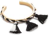 Madewell Cord & Tassel Cuff Bracelet