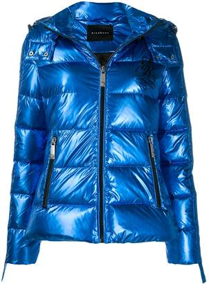 John Richmond Colescott logo puffer jacket