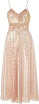 Maria Lucia Hohan Eleni Bustier Pleated Dress
