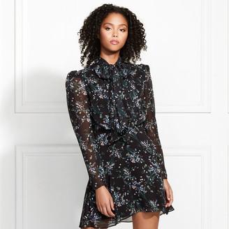 Rachel Zoe Gemma Vine Print Mini Dress