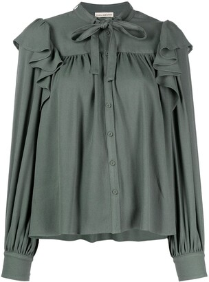 Ulla Johnson Tabitha ruffle-trimmed blouse