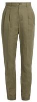 A.P.C. Lena slim-leg cotton-blend gabardine trousers
