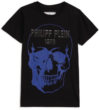 Philipp Plein Junior Crystal Skull T-Shirt (4-16 Years)