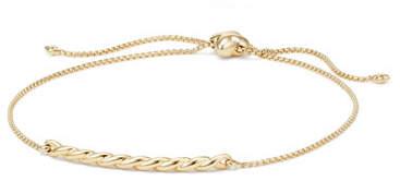 David Yurman Petite Paveflex 18K Bracelet