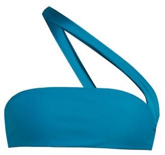 JADE SWIM Halo One-strap Bikini Top - Womens - Blue