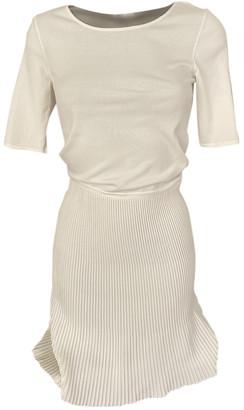 Armani Collezioni White Viscose Dresses