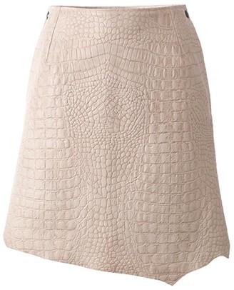Utmon Es Pour Paris Lamb Nappa Leather Skirt