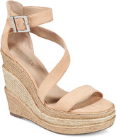 Charles by Charles David Thunder Platform Wedge Sandals