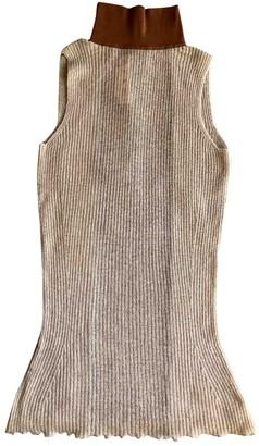 Marni Beige Wool Tops