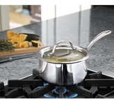 Calphalon Tri-Ply Stainless Steel 1.5 Qt. Covered Saucepan