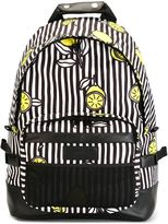 Ami Alexandre Mattiussi side buckle printed backpack