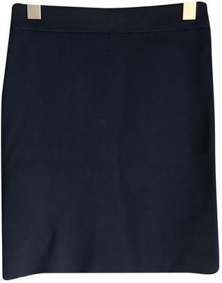 Alexander Wang Navy Cotton - elasthane Skirt for Women