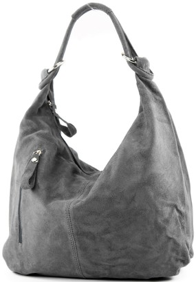modamoda de - ital. Leather Bag Hobo Bag Leather Bag Wild Leather Large T158
