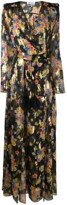ATTICO Floral Print Maxi Dress