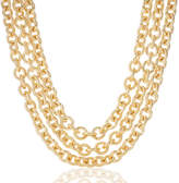 Brahmin Smooth Twisted Layered Chain Necklace Providence