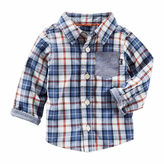 Osh Kosh Oshkosh Long Button Front Shirt-Baby Boys