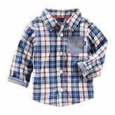 Osh Kosh Oshkosh Long Sleeve Button Down t-Baby Boys