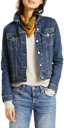 Levi's Throw Elbows Original Denim Trucker Jacket