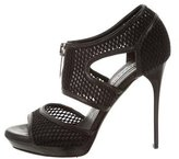 Burberry Mesh Cage Sandals