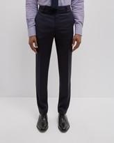 Jaeger Wool Mini Check Slim Trousers