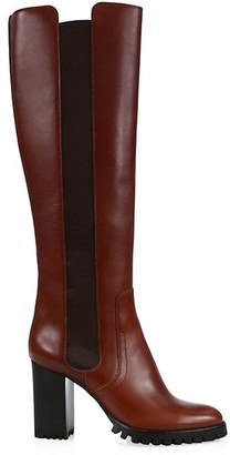 Alexandre Birman Charlie Tall Leather Boots