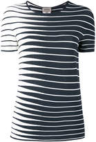 Armani Collezioni striped knitted top