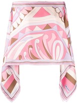 Emilio Pucci abstract print tunic top