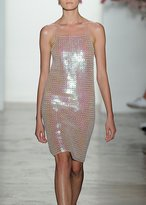 Adam Selman Sequin Mini Dress Pink