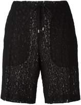 Giamba lace drawstring shorts