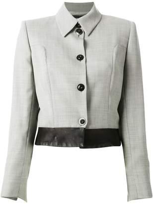 Jean Louis Scherrer Pre-Owned cropped jacket