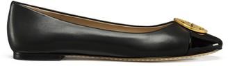 Tory Burch Chelsea Cap-Toe Ballet Flat